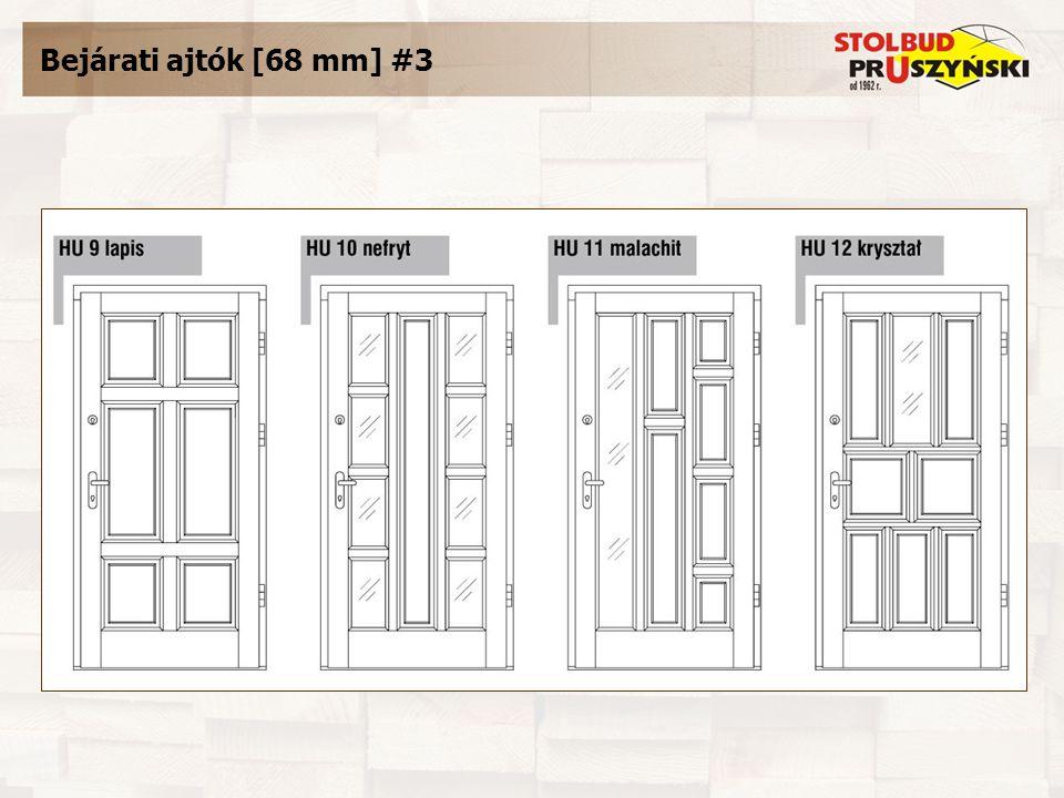 Bejárati ajtók [68 mm] #3